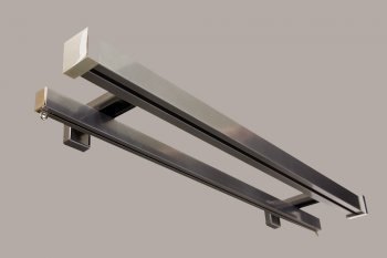 32mm square double rod